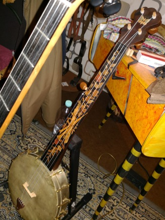 Banjo von 1860