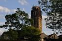 Turm der Salvatorkirche in Duisburg...
